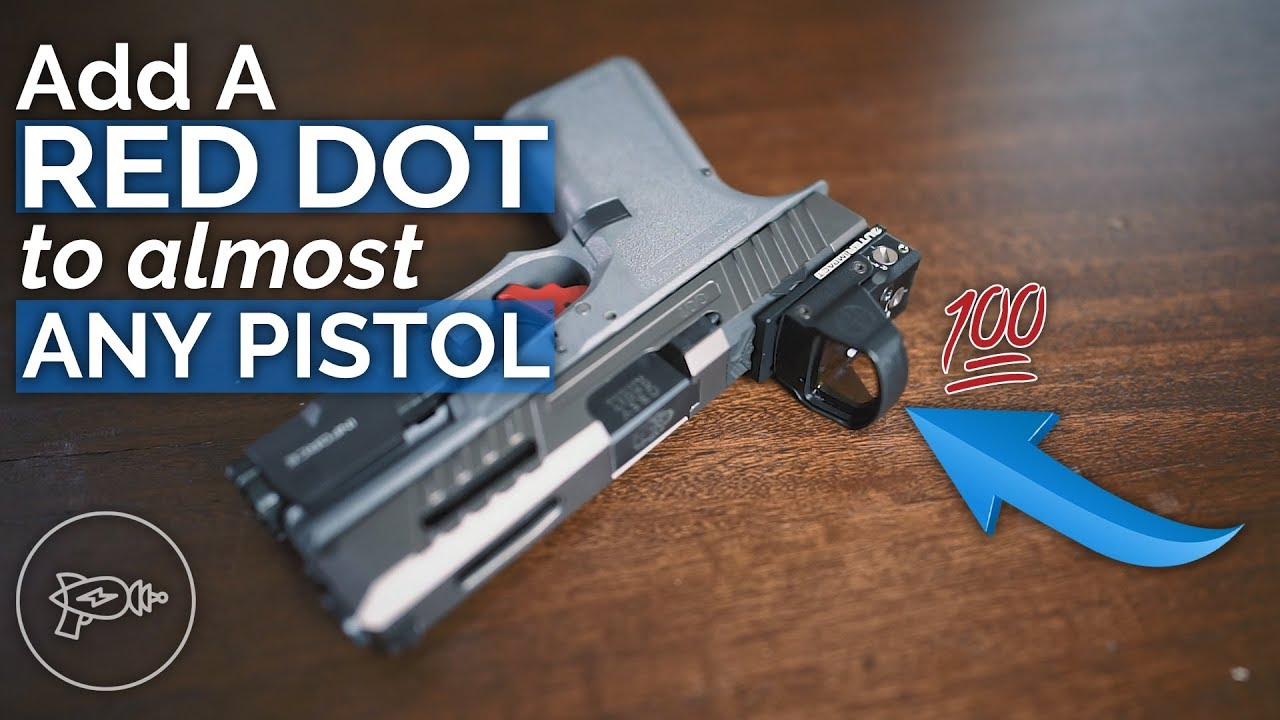 Add a Red Dot Sight to Almost Any Pistol? Leupold Delta Point Pro on Glock  19!