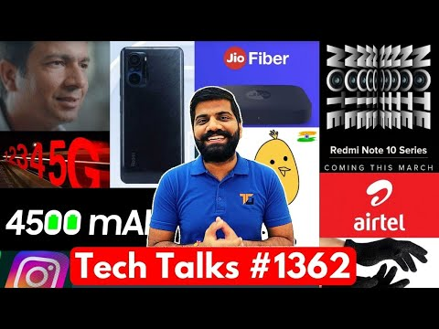 Tech Talks #1362 – Redmi Note 10 Launch, Micromax 5G Phone, AirTel 5G Launch, TikTok Vs Reels, Koo