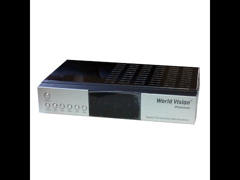 Обзор World Vision Premium цифровой DVB-C, DVB-T2 ресивер.