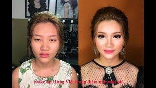 Mắt Một Mí Nhỏ Bụp Trang Điểm Thế Nào Cho Đẹp ? / Hùng ViệtMakeup