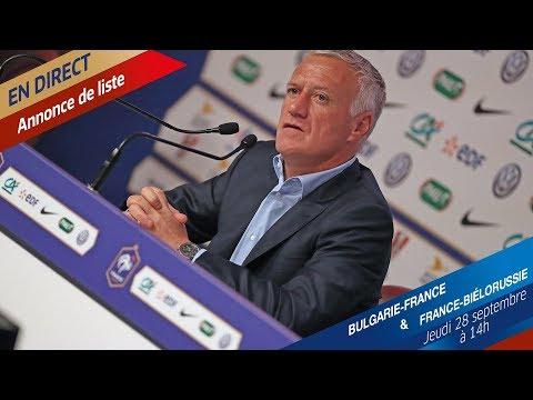 Equipe de France: liste et conférence de Didier Deschamps, le replay I FFF 2017