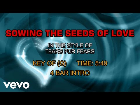 Tears For Fears - Sowing The Seeds Of Love (Karaoke)