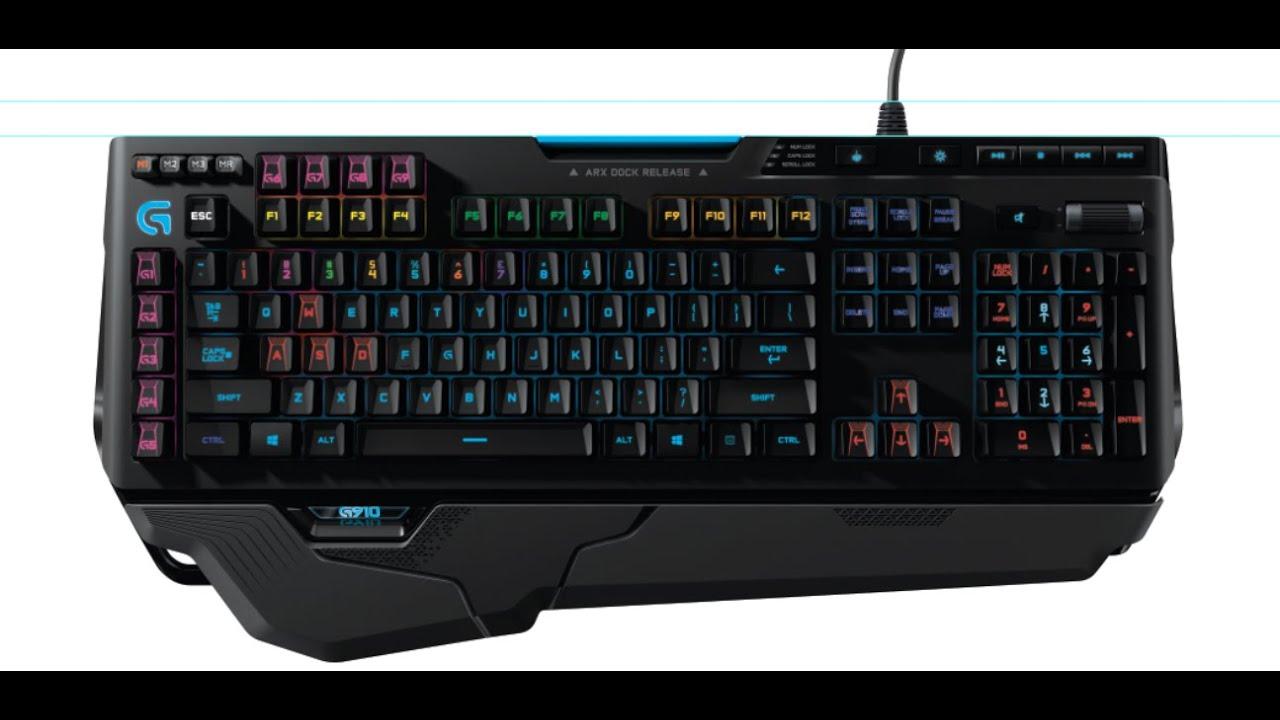 Review: Logitech G910 Orion Spark Mechanical Keyboard