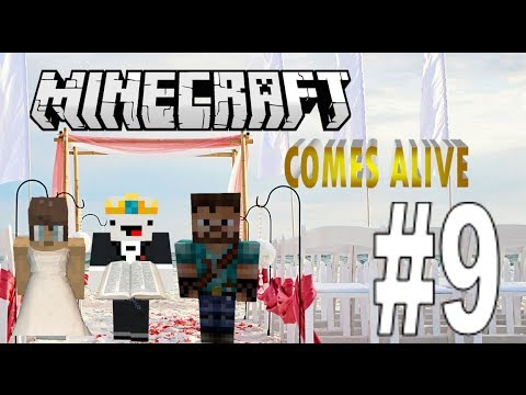 Minecraft Comes Alive Episode 9 Smelly Potato's Wedding!
