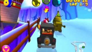 Wacky Races Game Sample - Dreamcast