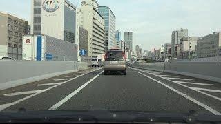 4K 阪神高速神戸線→環状線→松原線 等速  第二神明・須磨→大阪市内→西名阪・松原JCT