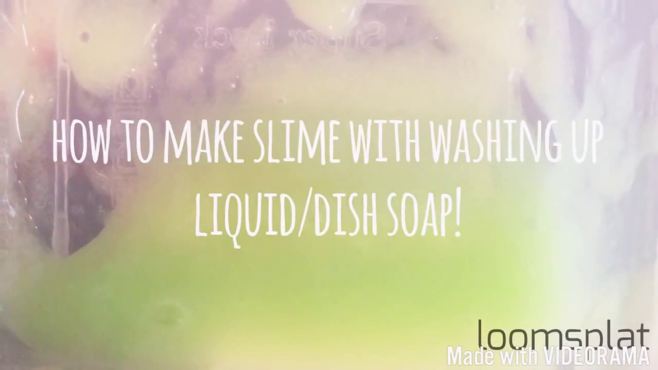 How to make slime with only washing up liquid dish soap and salt how to make slime with only washing up liquid dish soap and salt ccuart Image collections
