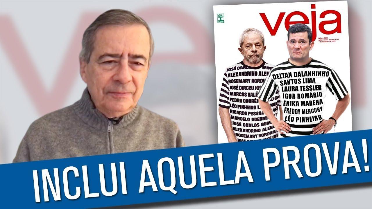 recoger Abierto espectro  Veja prendeu o Lula e vai prender o Moro - YouTube