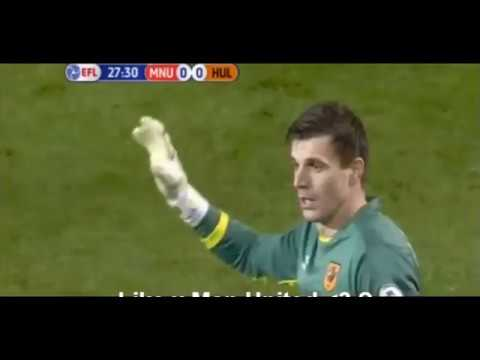 Manchester United vs Hull City 2-0 All Goals EFL CUP 2017