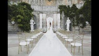 Изысканная свадьба в дворцовом стиле в Крыму