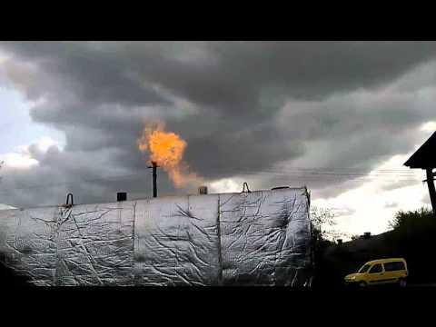 Работа газа в термодинамике