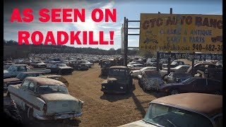 Exploring a HUGE Classic Car Graveyard! CTC Auto Ranch -- Part 1
