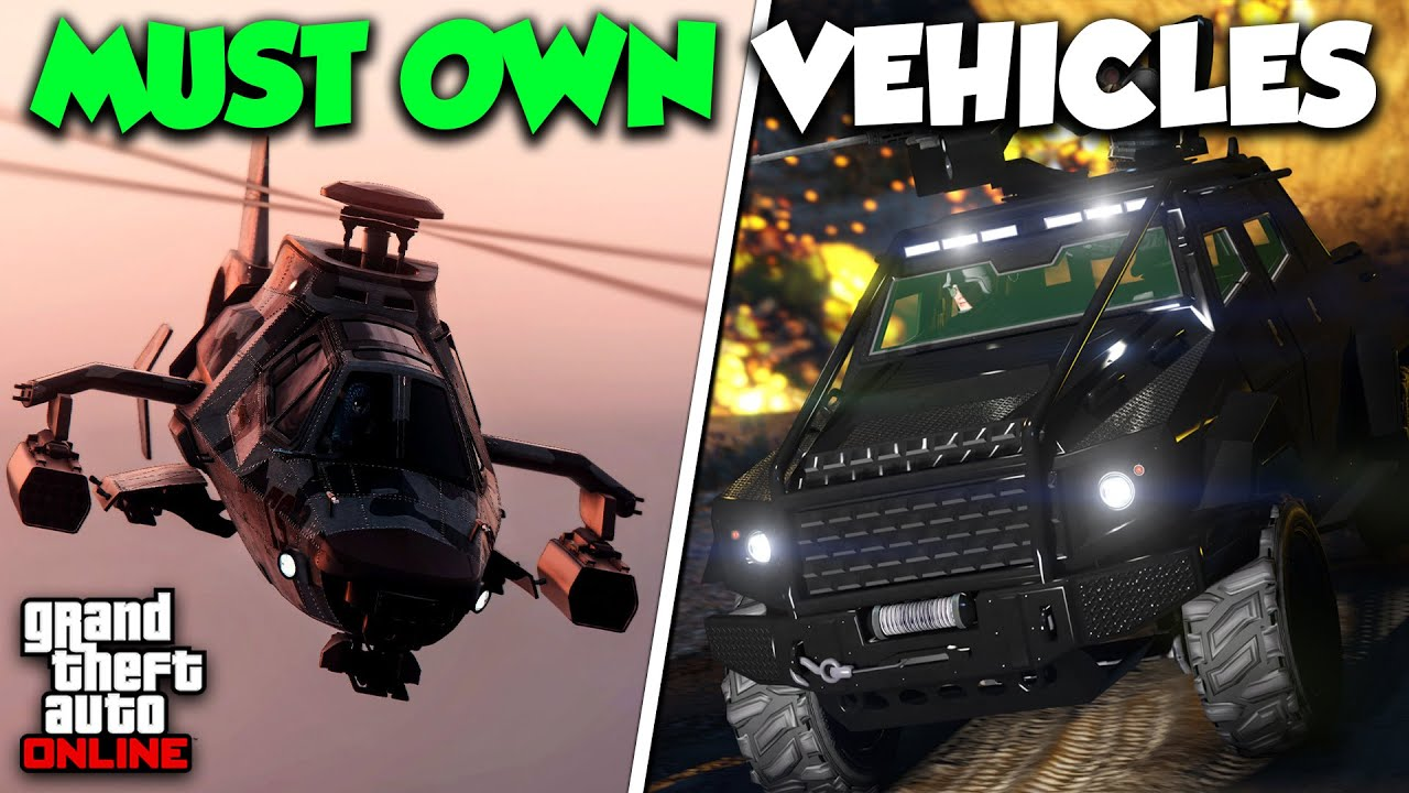 TOP 10 BEST VEHICLES YOU MUST OWN IN GTA ONLINE! (2021)