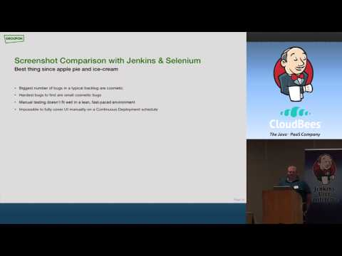2012 San Fran JUC: David Tolley - Using Jenkins to Display Selenium Failures & UX Compliance