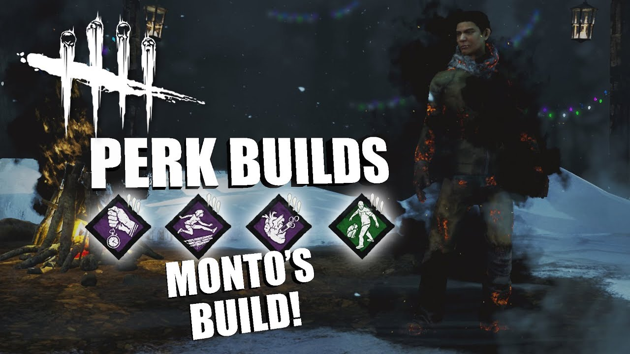 MONTO'S CHOICE! | Dead By Daylight LEGACY SURVIVOR PERK BUILDS