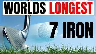 IS THIS A ILLEGAL 7 IRON - HOW LONG IS IT ?