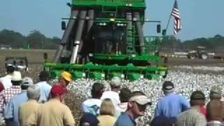 Sunbelt Ag Expo - John Deere Self Propelled Cotton Picker