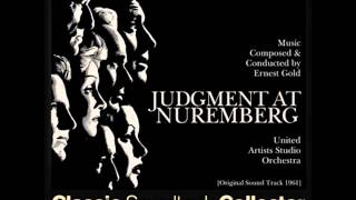 judgement at nuremberg cast [VIDEO] 16.05.2016