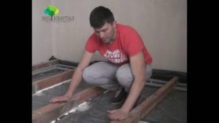 видео Вентиляция пола в деревянном доме и продухи в квартире: виды и устройство