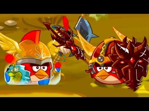 Мультик Игра для детей Энгри Бердс ЭПИК #31 Прохождение игры Angry Birds Злых Птичек #КРУТИЛКИНЫ