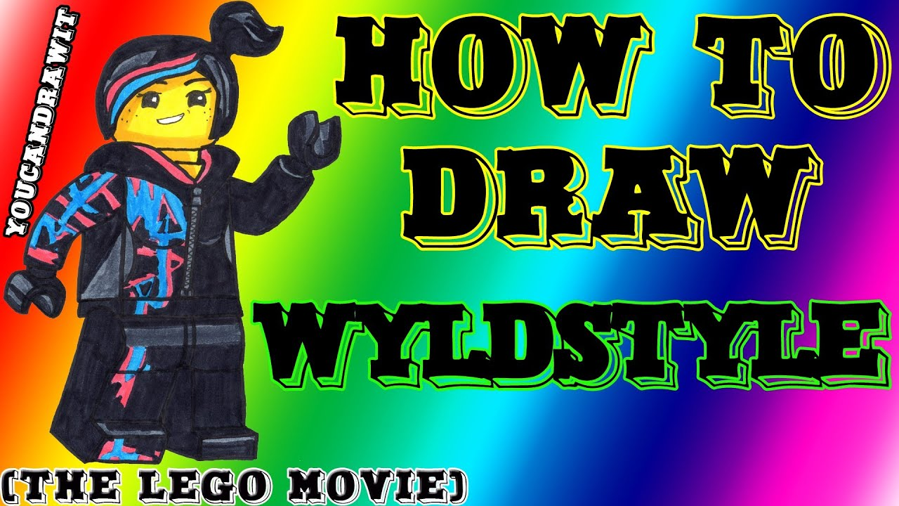 How To Draw Wyldstyle From The LEGO Movie YouCanDrawIt