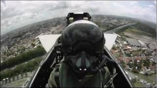 Eurofighter Typhoon cockpit footage HD 720p