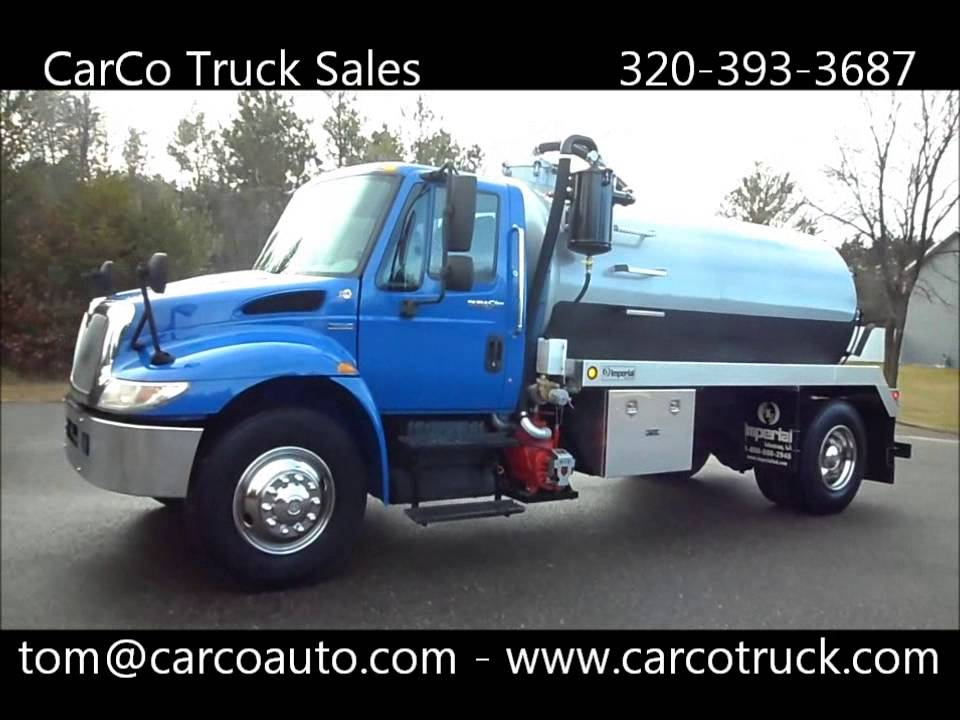 Truck Service Near Me >> International Septic Vacuum Tank Pump Truck for sale by CarCo Truck Sales and Service - YouTube