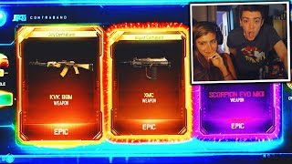 girl opens 3 dlc weapons in 1 supply drop opening