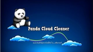 Panda Cloud Cleaner infections removal