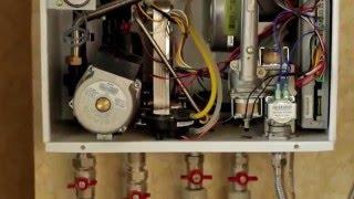Ввод в эксплуатацию газового котла NAVIEN(Купить газовый котел TM NAVIEN можно на сайте: tsfera.com.ua Двухконтурный настенный газовый котёл торговой марки..., 2016-04-07T08:26:23.000Z)