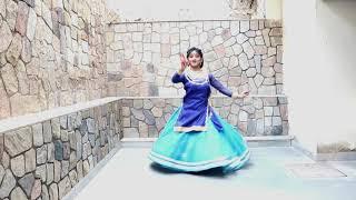 Ek Radha Ek Mera // Based On Kathak Dance Style // Dedicated to Ptd Briju Maharaj ji For His  B'Day