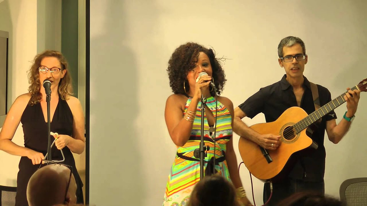 Elisete at the Brazilian Cultural Center In Tel Aviv Dancar com voce/Carolina