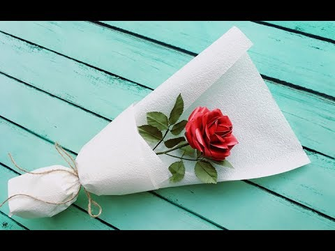 abc-tv- -how-to-make-paper-rose-bouquet-flower-from-printer-paper---craft-tutorial