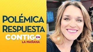 Carla Zunino respondió a dichos de Claudio Fariña  - Contigo En La Mañana