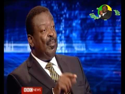 HARDTalk BBC Musalia Mudavadi interview
