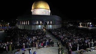 Palestinians gathered at Al-Aqsa to celebrate Eid amid Israel-Hamas conflict | Gaza | Jerusalem