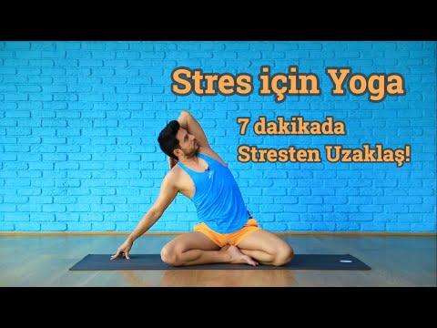 7 Dakikada Stresten Uzaklaş | Evde Ve Ofiste Yoga