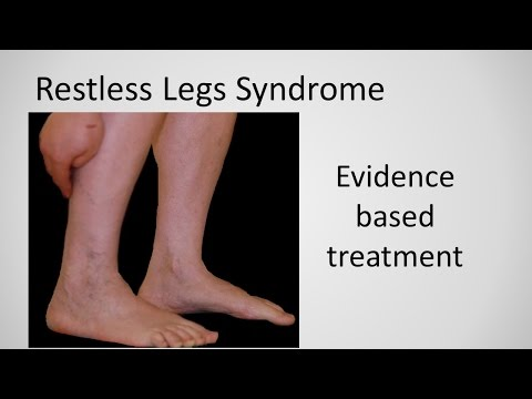 Restless Leg Syndrome evidence based treatment