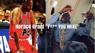Horace Grant on Jordan taking his meal away on the Chicago Bulls private Jet after a loss.