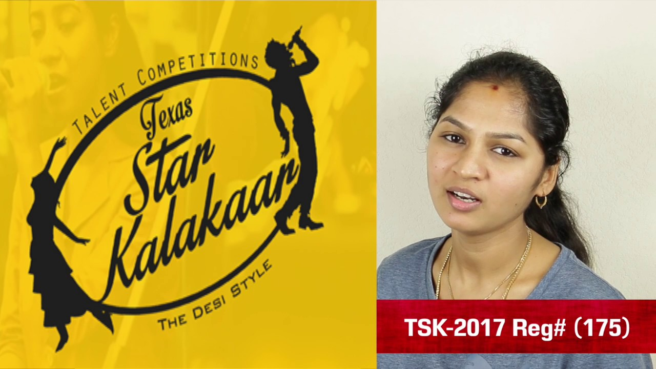Introduction Promo - Texas Star Kalakaar 2017 - Reg #175