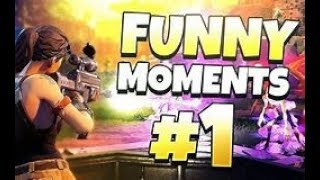 FUNNY FORTNITE MOMENTS - RAGE TAGE #1 - GLITCH STAIR CASE