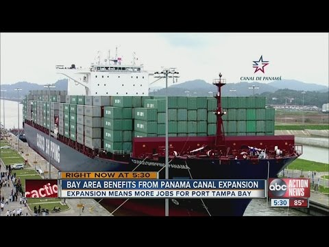 Bay area benefits from Panama Canal expansion