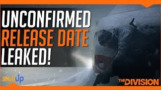 The Division | Likely Survival Release Date Leaked (PC, Xbox & PS4)