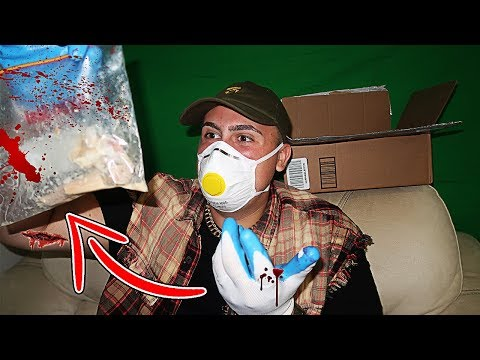 I GOT SENT A RANDOM BOX FROM THE DARK WEB!! (YOU WONT BELIEVE WHAT WAS INSIDE!)