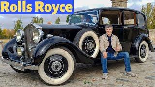 Rolls Royce Phantom III 1938 года.  Катаемся по городу.