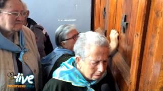 Ingresso dei Pellegrini di Minervino Murge al Santuario dell'Incoronata di Foggia 2016