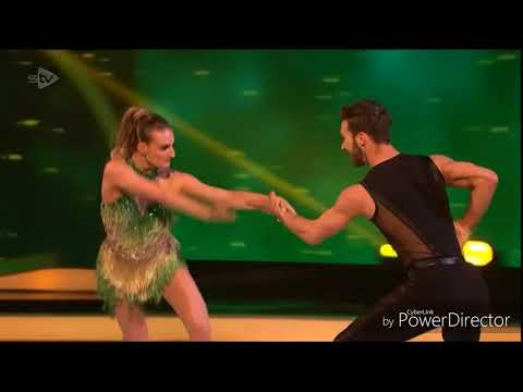 Gabriella Papadakis and Guillaume Cizeron skating in Dancing on Ice: Semi Final (4/3/18)
