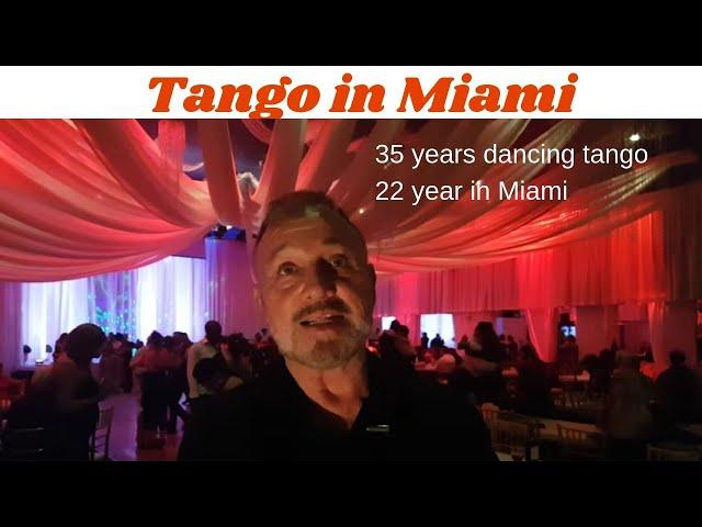 Llego con el Tango a Miami hace 32 años. USA