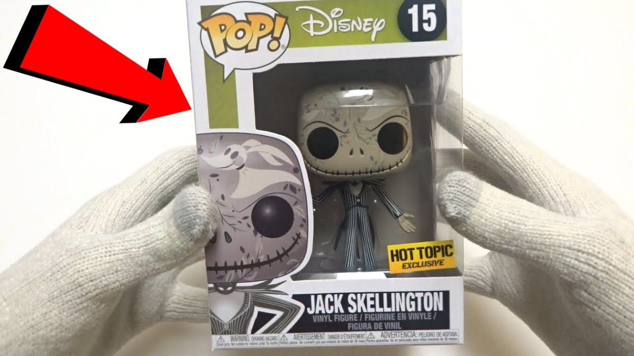 2c4dad396fb Funko POP Disney  15 Nightmare Before Christmas Jack Skellington Zero  Artwork (Hot Topic Exclusive)