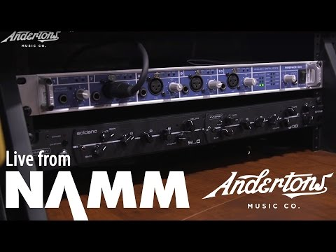 Synergy Amps and Modules at NAMM 2017